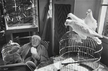 Matisse and Doves, 1949, Cartier Bresson