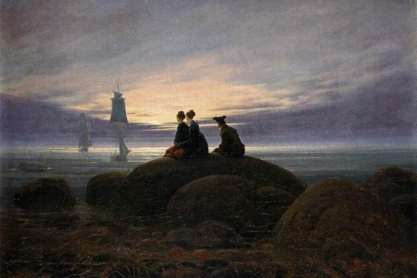 Caspar David Friedrich, Moonrise by the Sea