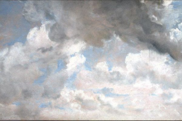 Constable, Cloud Study, 1822