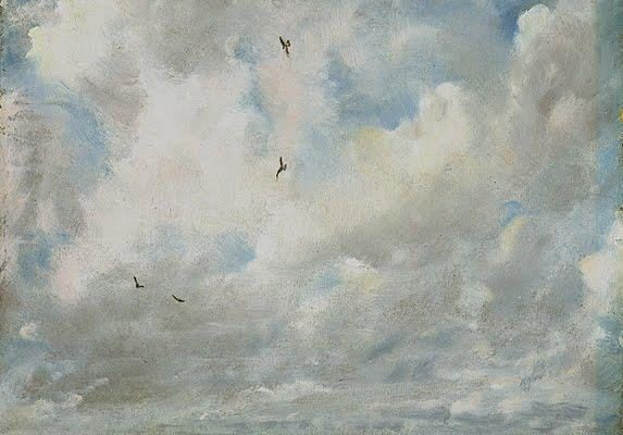 Constable, Study of Birds in Flight
