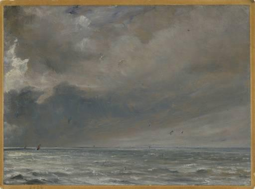 Constable, The Sea Near Brighton, 1826