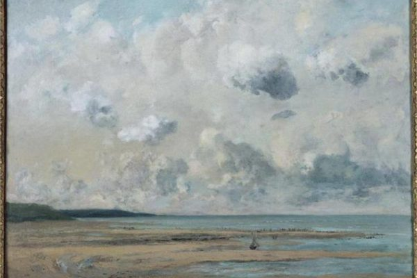 Courbet, Shores of Normandy, 1866