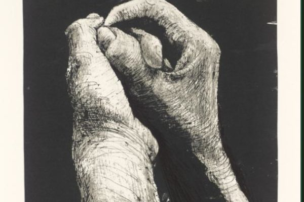 Hands II 1973 Henry Moore OM, CH 1898-1986 Presented by the artist 1975 http://www.tate.org.uk/art/work/P02191