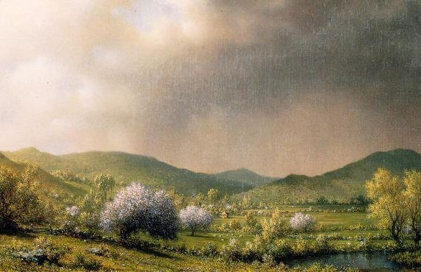 Martin Johnson Heade, April Shower, c. 1868