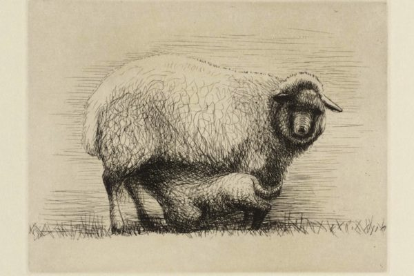 Sheep with Lamb III 1972 Henry Moore OM, CH 1898-1986 Presented by the artist 1975 http://www.tate.org.uk/art/work/P02229