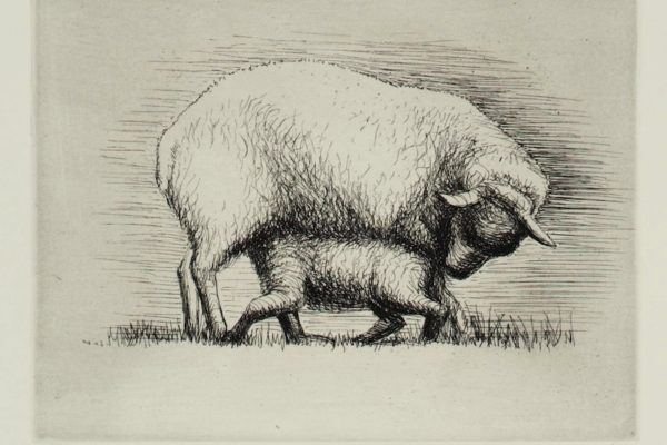 Sheep with Lamb IV 1972 Henry Moore OM, CH 1898-1986 Presented by the artist 1975 http://www.tate.org.uk/art/work/P02236