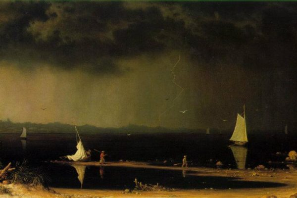 Martin Johnson Heade, Thunderstorm on Narragansett Bay, 1868