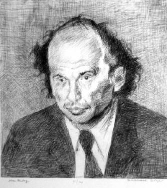 Allen Ginsberg, 1951