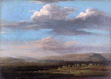 Thomas Jones, View in Radnorshire