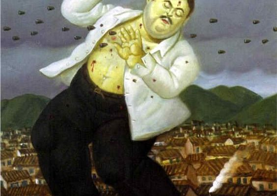 Fernando Botero, Death of Bablo Escobar