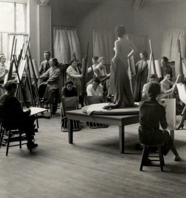 ActivistArt_Ph.f5.21 Chatterton Art Class Nude © Vassar College / Archives & Special Collections, Vassar College Libraries