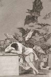 Goya, The Sleep of Reason Produces Monsters