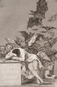 Goya, The Sleep of Reason Produces Monsters