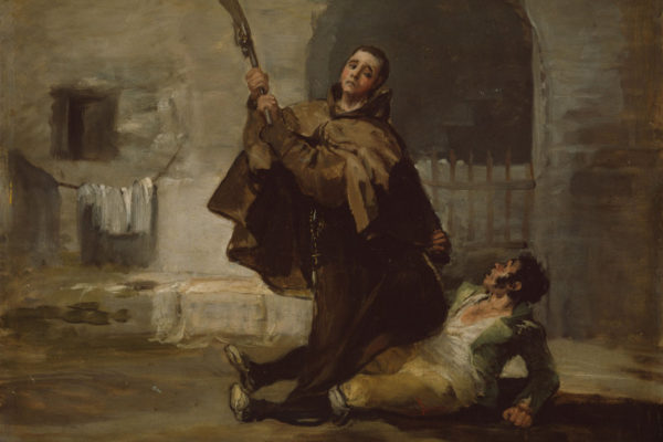 Goya, Friar Pedro and Maragato