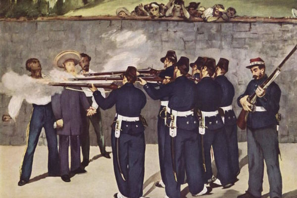 Manet, Execution of Emperor Maximilian