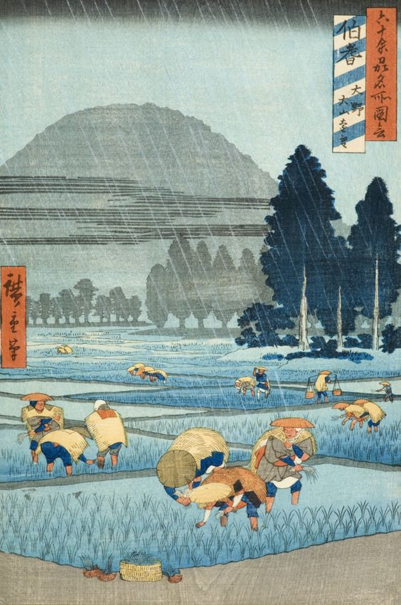 Hiroshige S Rainy Moments Seattle Artist League