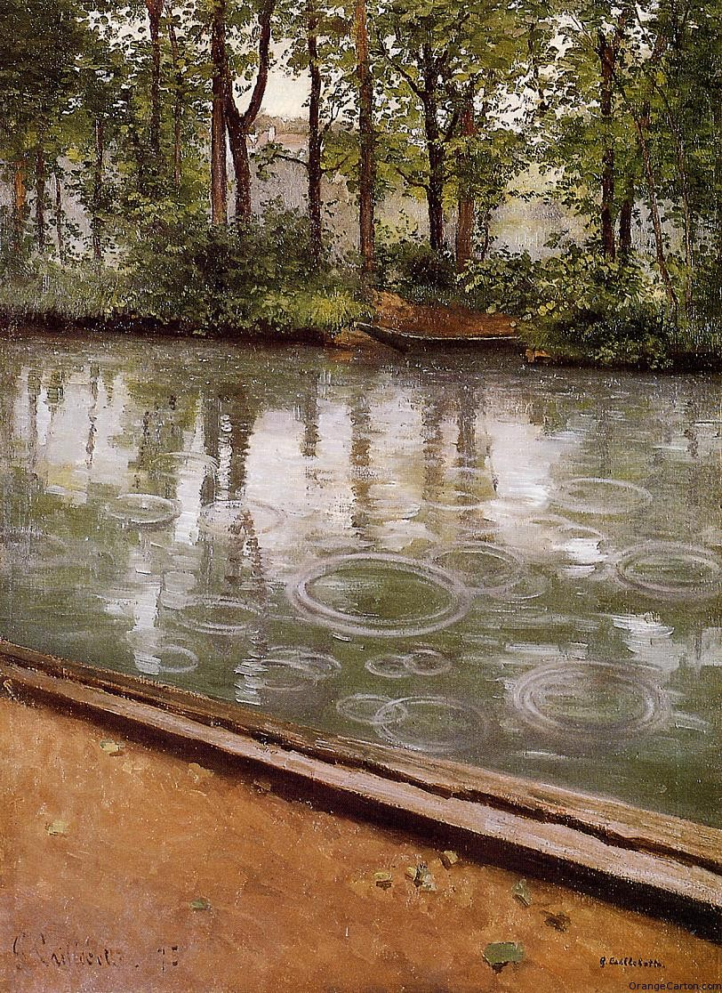 gustave-caillebotte-the-yerres-effect-of-rain