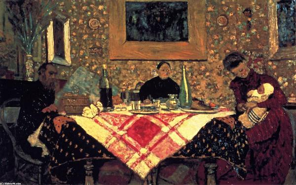 "Edouard Vuillard, ""Roussel Family at Table"""