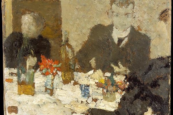 "Edouard Vuillard, ""At the Table"""