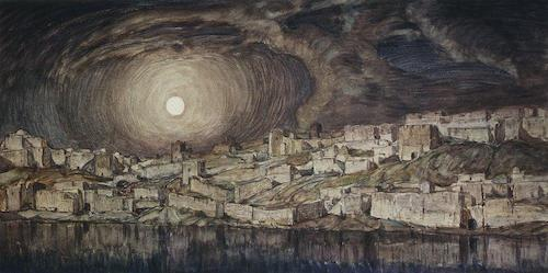 konstantin-bogaevsky-memories-of-mantegna-1910
