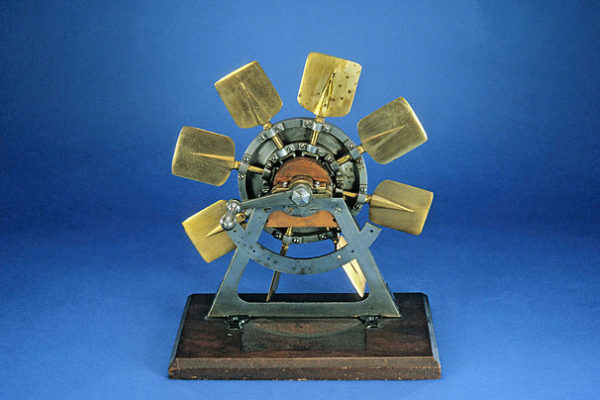 """Henry Williams """"Model for Steamboat Paddle Wheel"""" 1877"""