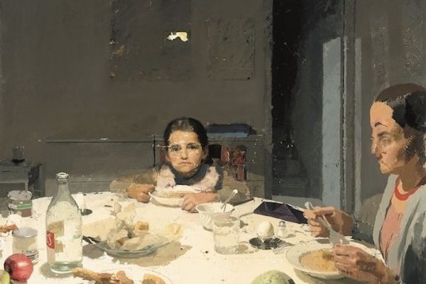 "Antonio Lopez Garcia ""The Dinner"" 1971-80"