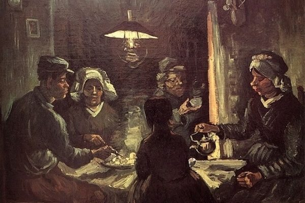 "Van Gogh ""The Potato Eaters"" 1885"