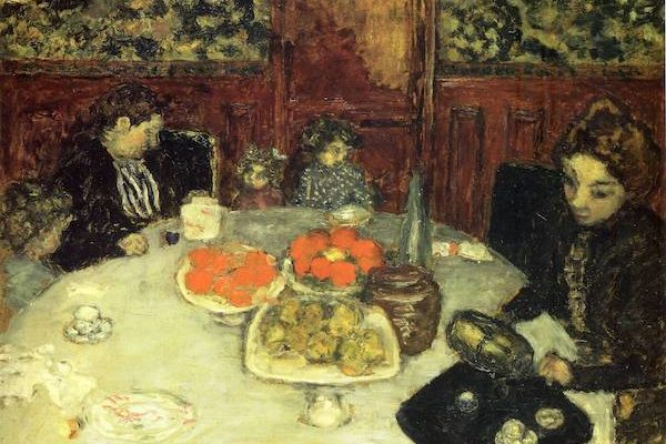 "Pierre Bonnard ""At the Table"""