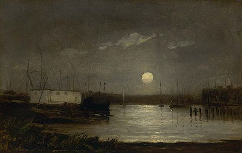edward-mitchell-bannister-moon_over_a_harbor_ca1868