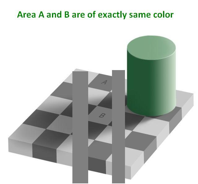 Color Illusions Seattle Artist League Optical Illusion Line And Color With Pic