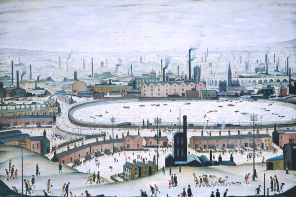 The Pond 1950 L.S. Lowry 1887-1976 Presented by the Trustees of the Chantrey Bequest 1951 http://www.tate.org.uk/art/work/N06032
