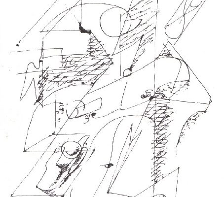 André+Masson+-+automatic+drawing+(1925)+