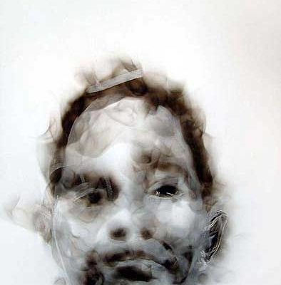 Diane Victor - smoke drawing