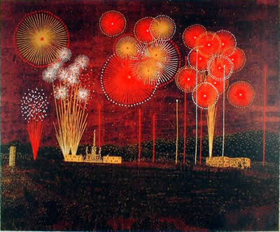Fireworks in Tondabayashi Kiyoshi YAMASHITA