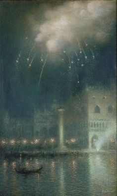 Lucien Levy Dhurmer. Venice