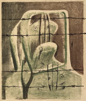 Spanish Prisoner, 1939, by Henry Moore