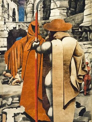 The Watcher, c 1937, by Edward Burra