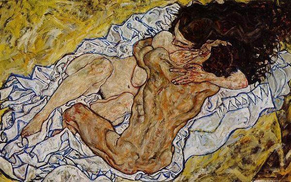 Schiele - Embrace - 1917
