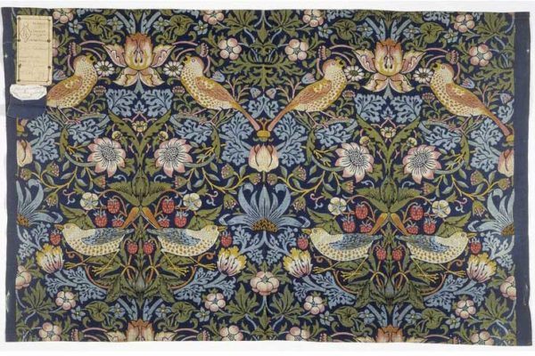 William Morris, British textile designer, Strawberry Thief