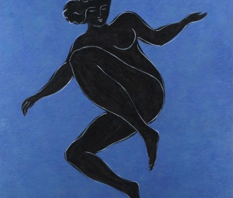 black-venus-on-blue-background-by-pierre-boncompain-e1434902921559