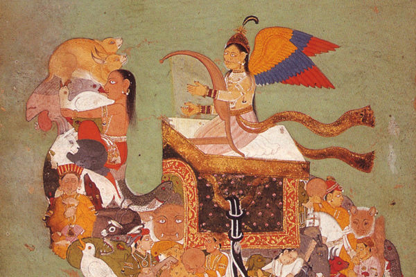 03-Peri-riding-composite-camel--Rajasthan--17th-cent