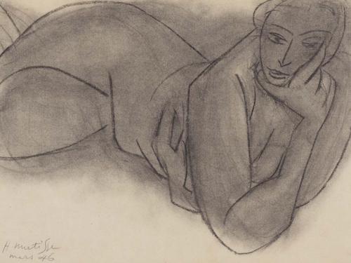 Henri-Matisse-Reclining-Nude-1946