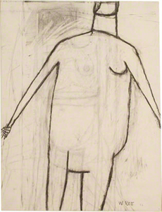 William_Scott__Standing_Nude__1956