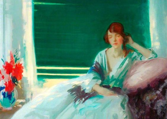 "Archibald George Barnes, ""Reverie"""